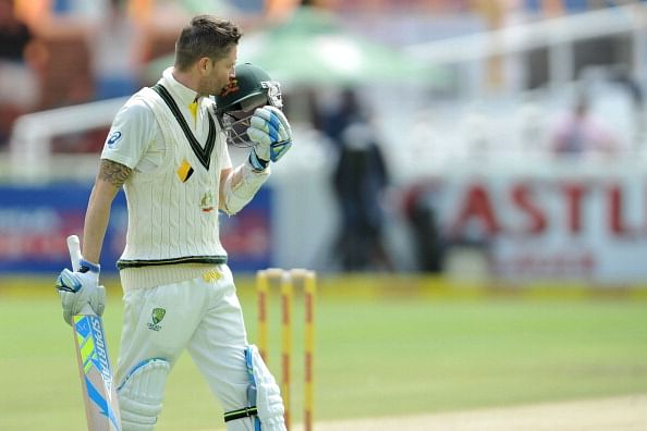 South Africa vs Australia 2014: Michael Clarke relieved after century