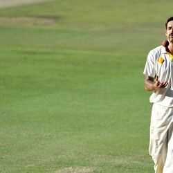 Injured Mitchell Johnson in race to be fit for IPL 2014
