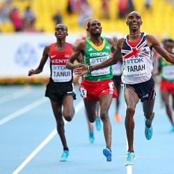 Olympic and World Champion Mo Farrah to compete in the 2014 New York City, Half Marathon on March 16