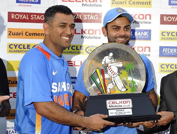 Virat Kohli overtakes MS Dhoni as trusted personality