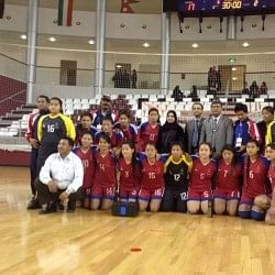Nepal finish 3rd in Qatar International Women's Handball Championship