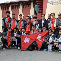 Nepal handball team set to participate in South Asian Handball Championship