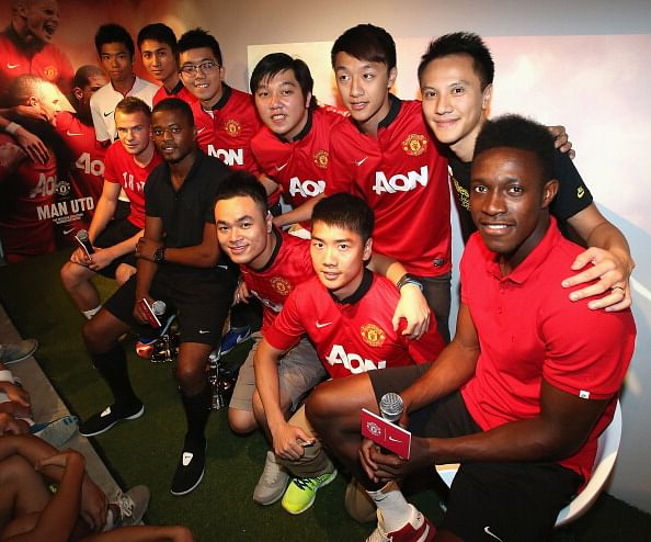 Manchester United and Nike sign a world-record £600 million sponsorship deal