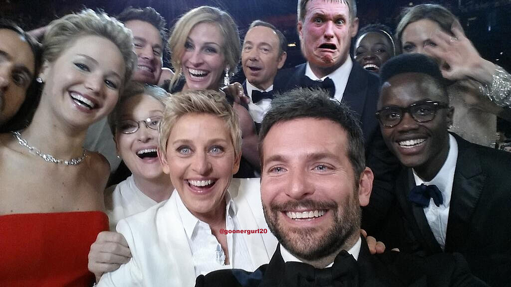 Best football pictures from the 2014 Oscars