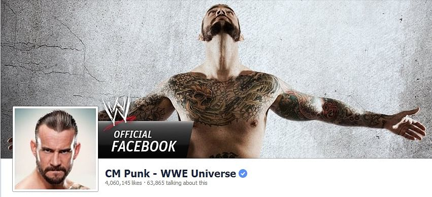WWE (mis)using CM Punk's Facebook page