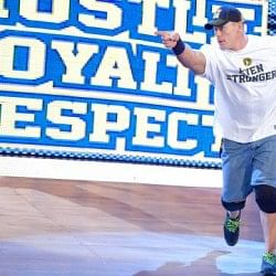 John Cena suffers Groin tear; knee injury was just a WWE angle
