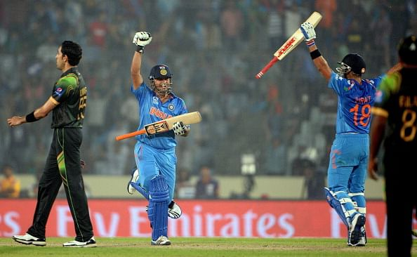 India maintain all-win record against Pakistan in World Cup with 7 wicket win in World T20