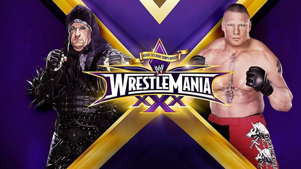 WWE WrestleMania 30 Match Preview: The Undertaker vs Brock Lesnar