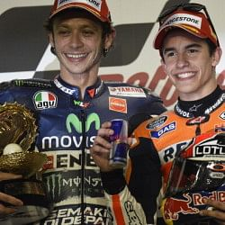 Qatar MotoGP: Marcquez and Rossi, the young Jedi vs the Master