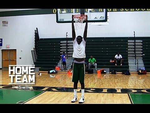 7ft 5in Tacko Fall the tallest high school player in the world