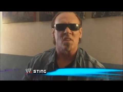 Sting makes first appearance on the Ultimate Warrior show
