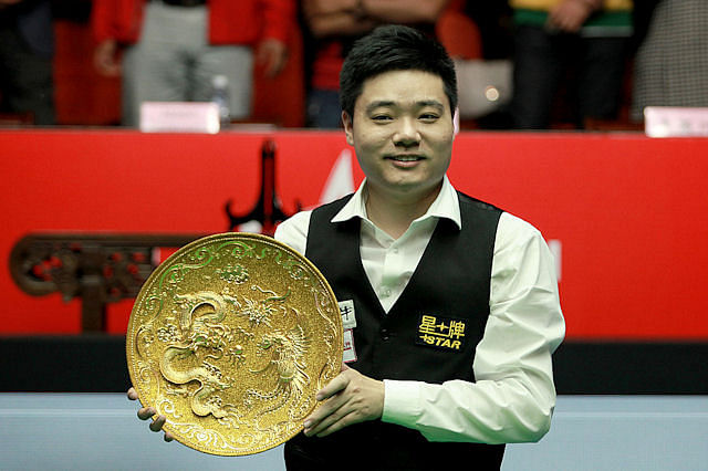 Chinese star Ding Junhui stands on the verge of greatness