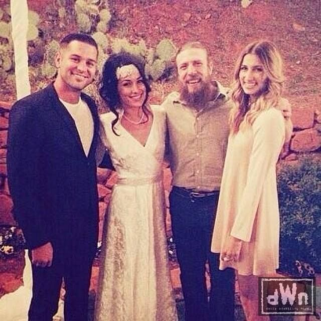 the daniel bryanbrie bella wedding to be telecast on