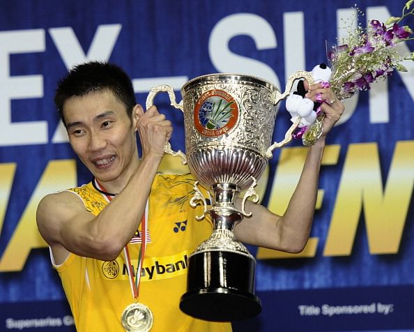 Lee Chong Wei wins third India Open title