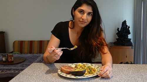 Protein packed hearty breakfast with Neha Uberoi