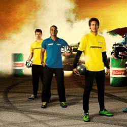 Sponsored Video: Neymar and Ken Block light up Castrol campaign