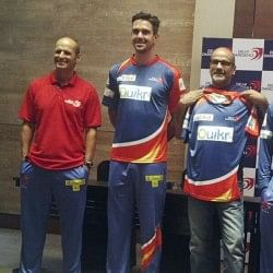 Delhi Daredevils unveil new jersey for IPL 2014