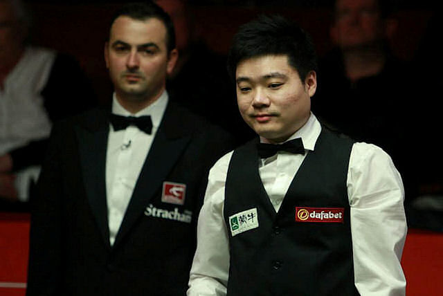 Ding Junhui dumped out in Crucible shocker