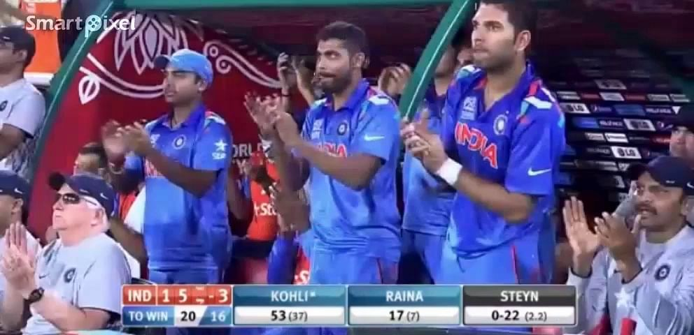 Video: Virat Kohli's 44-ball 72* that knocked South Africa out of T20 World Cup