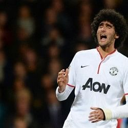 Everton boss Roberto Martinez claims Man Utd's Marouane Fellaini wouldn't get into his team