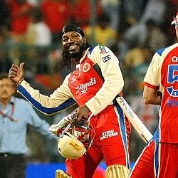 IPL 2014: Why Chris Gayle is not playing today against Delhi Daredevils