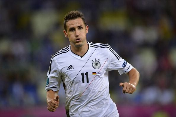 Miroslav Klose injured for a month, could miss 2014 FIFA World Cup