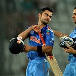 Virat Kohli grateful to MS Dhoni for allowing him to score winning runs in semifinal