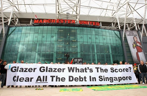 Top 5 football clubs in debt