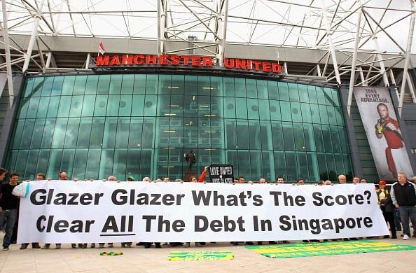 Top 5 football clubs in debt