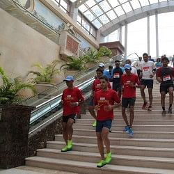 Nike Free Staircase Run and Nike+ Runners' Meet see tremendous participation from running enthusiasts