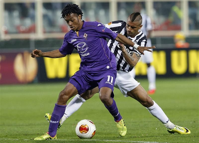 Rumour: Manchester United to rival Arsenal for Fiorentina winger Juan Cuadrado