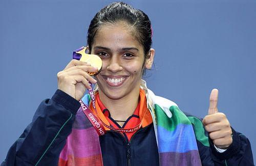 Saina nehwal after winning bronze in 2012 london olympics