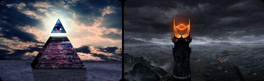Lord Of The Rings Eye Of Sauron Illuminati