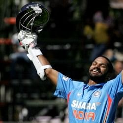 Wisden names Shikhar Dhawan among five Cricketers of the Year