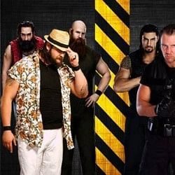 The Shield vs. The Wyatt Family for WWE Main Event on the WWE Network