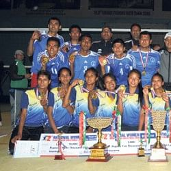 Nepal National Volleyball League: NPC, APF crowned champions