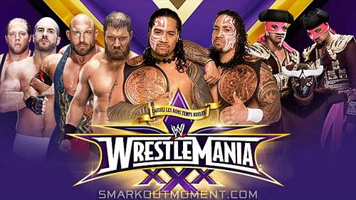 WrestleMania 30 Preview: The Tag team Championship Fatal Four Way