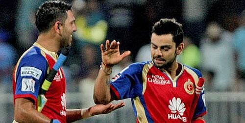 Virat Kohli unhappy with criticism of Yuvraj Singh