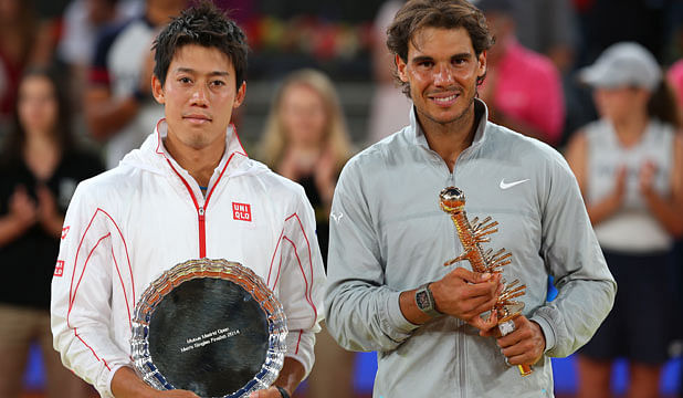 Ninth Samurai : Kei Nishikori climbs to ATP Rank 9, while Rafael wins his record 4th Madrid title