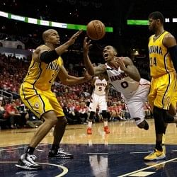 2014 NBA Playoffs: Pacers, Thunder and Warriors fend off elimination to force Game 7s