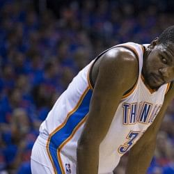 Kevin Durant named KIA NBA Most Valuable Player for the season 2013-14