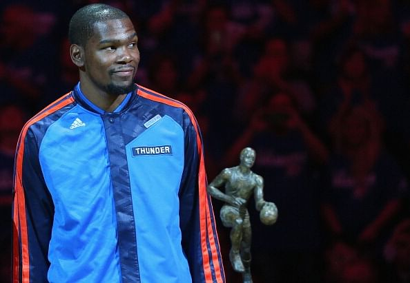 Kevin Durant: The MVP burden