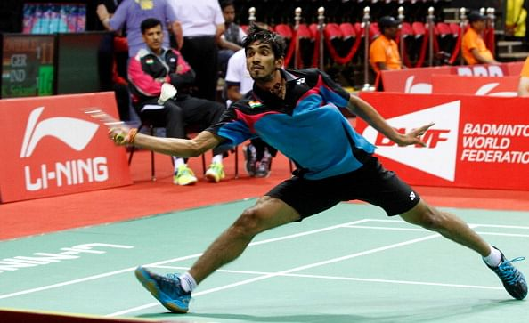 Shuttler K. Srikanth rises to World No.13 in BWF World Rankings