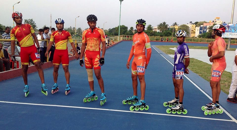 Day 3: Indian team skating trials