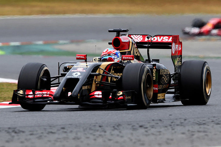 Top 5 drivers from the Spanish Grand Prix