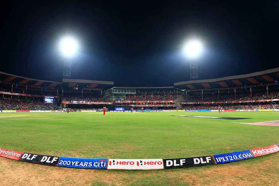 Top 5 venues which have witnessed most sixes in IPL