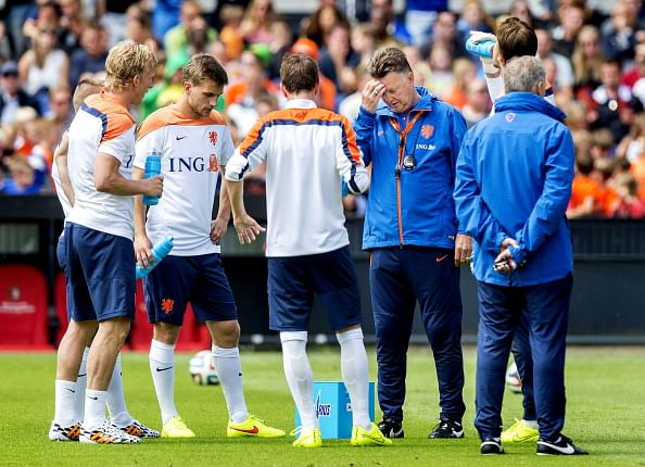 Netherlands announce 23-man squad for the FIFA World Cup 2014