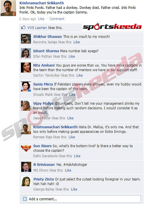 FB Wall: How IPL teams choose their captains!