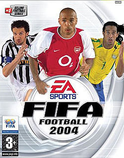 EA SPORTS - FIFA covers over the years
