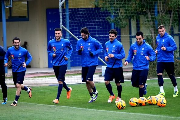 Greece announce 30-man squad for the FIFA World Cup 2014